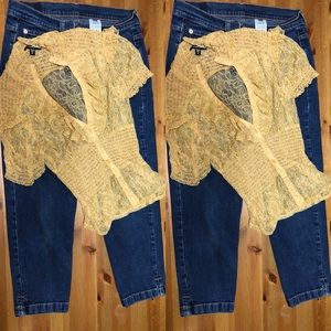 Jeans and top bundle
